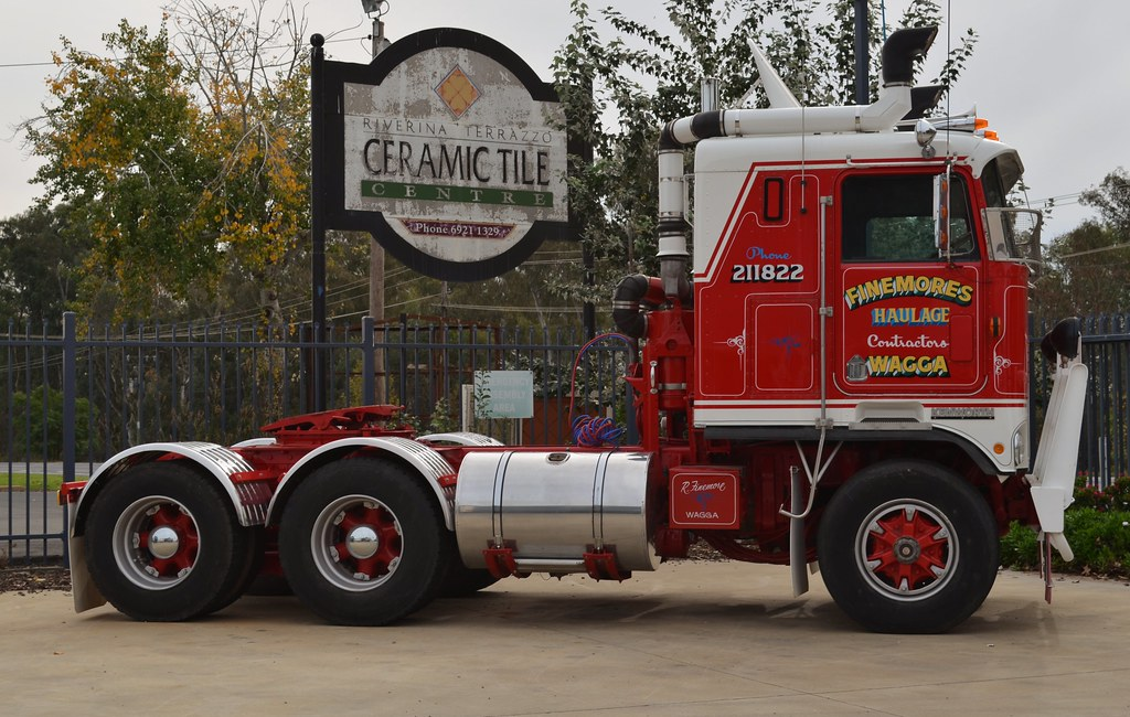 Finemore Cabover Kenworth Russell Flickr