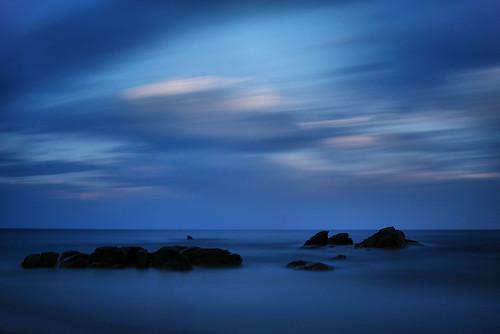 sardegna longexposure sea sky italy italia mare sardinia cielo lavitaèbella lidodiorrì maggio2012challengewinnercontest