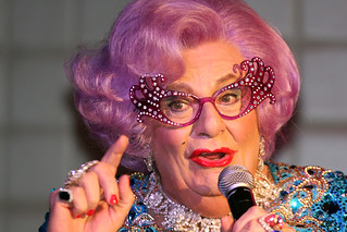Dame Edna | by Eva Rinaldi Celebrity and Live Music Photographer