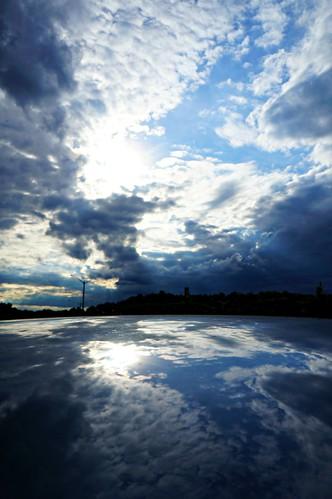 light sunset summer clouds composition reflections landscape photography day cloudy sony illusion va dcist alpha fairfax nex hcs flipmode79 nex5n