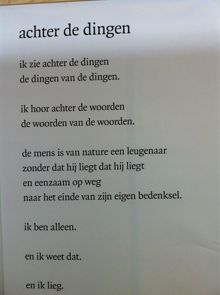 Uitgelezene Gedicht Gaston Bannier @S2Mstation035 | anaelk | Flickr FV-01