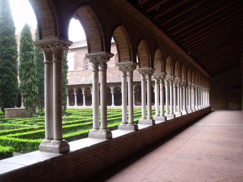 Couvent des Jacobins, Toulouse : le cloitre