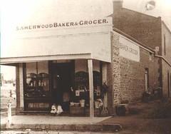 1883-87: Stephen and Jane Sherwood storekeeper and baker 4 Cowan Street Gawler.