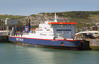 P&O Stena: EUROPEAN HIGHWAY (IMO 9015266) Port of Dover | Flickr