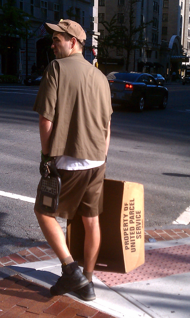 he delivers   My UPS delivery guy  A handsome, hot Latino wi…   Flickr