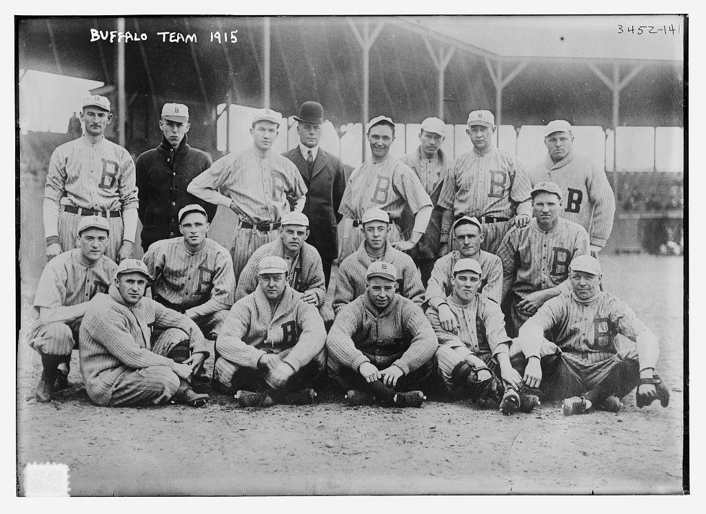 [Buffalo team, International League, 1915] (LOC)   Bain ...