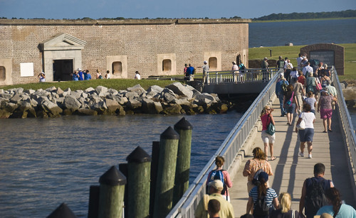 Civil War Trust National Teacher Institute at Fort Sumter (SC) July 14, 2012 | by Ron Cogswell