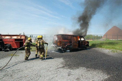 Live Fire - Pre-Service Firefighter Program at St. Lawrence College