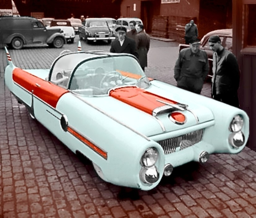 This Dream Car With Gullwing