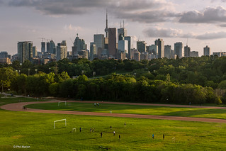 Toronto skyline from Broadview | by Phil Marion (182 million views - THANKS)