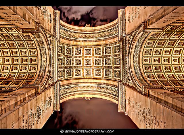 Arc de Triomphe Arch Symmetry