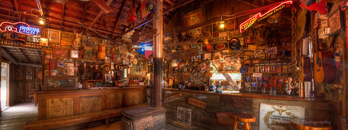 panorama bar vintage spring texas atmosphere historic tavern saloon luckenbach 2012 potbelliedstove