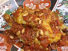 Moroccan Chicken Tagine with Tomatoes and Honey by Cook All Recipes Now !
