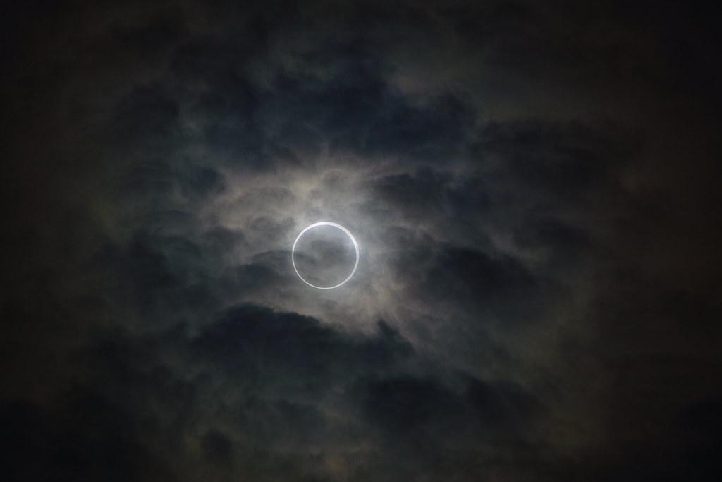 Annular solar eclipse 2012 金環日食