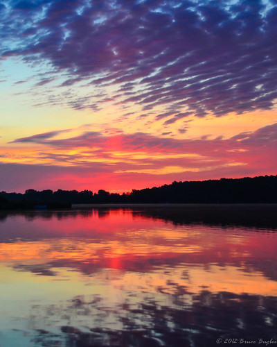 morning blue red sky orange lake reflection sunrise purple violet mygearandme mygearandmepremium