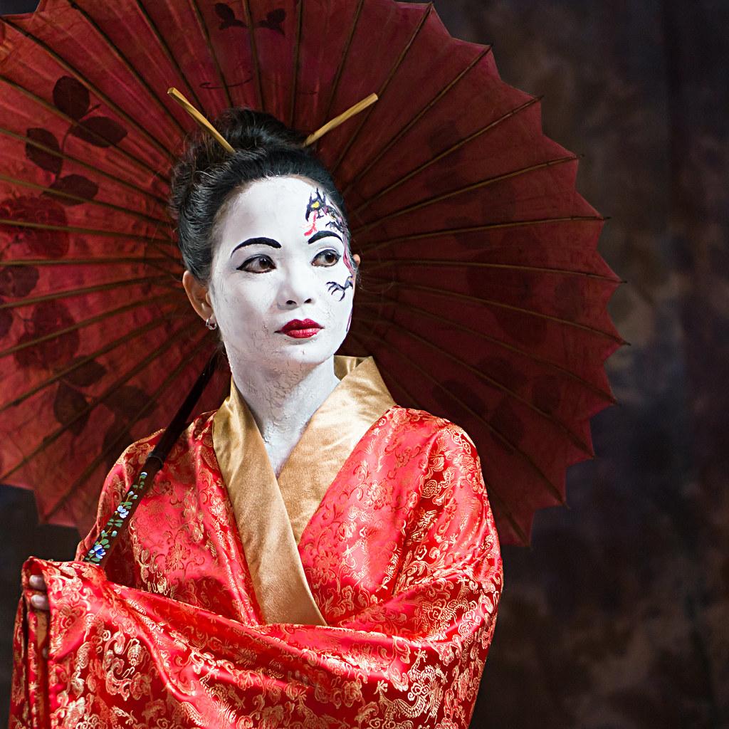 Expired the last geisha of old japan