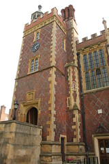 The clock tower of Lincoln's Inn