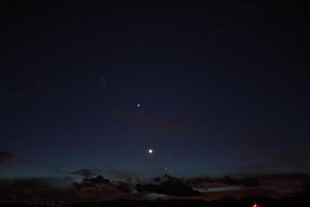 Amanecer con Venus y Júpiter en Tauro 2