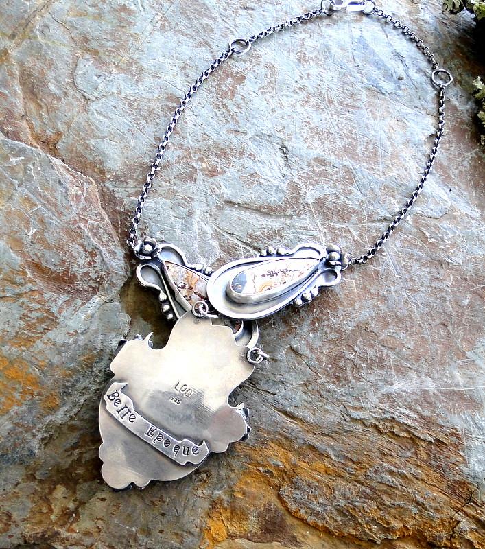 Back Of Belle Epoque Necklace
