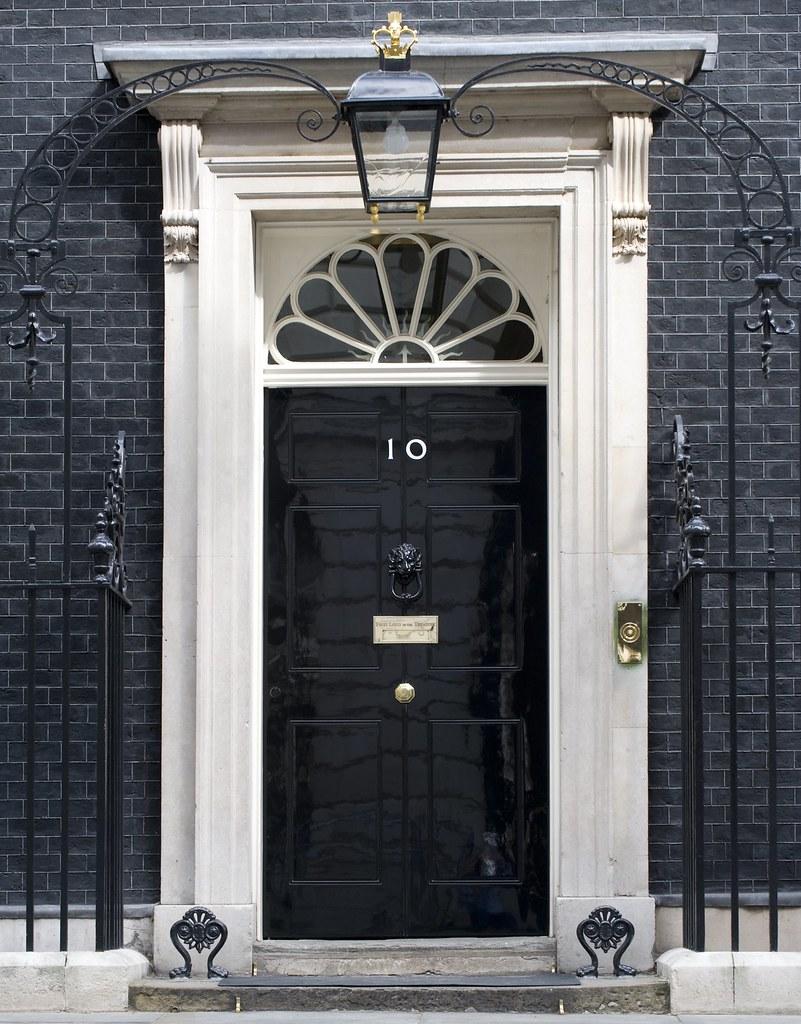 Number 10 Door The Famous Black Door Of Number 10
