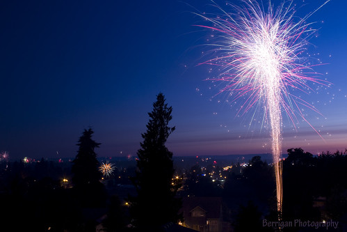 longexposure sunset sky usa night canon outdoors washington day fireworks ground battle 7d independence