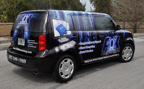 Scion vehicle wrap by TechnoSigns