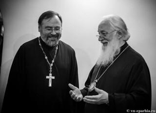 Всенощное бдение в Успенском соборе  370