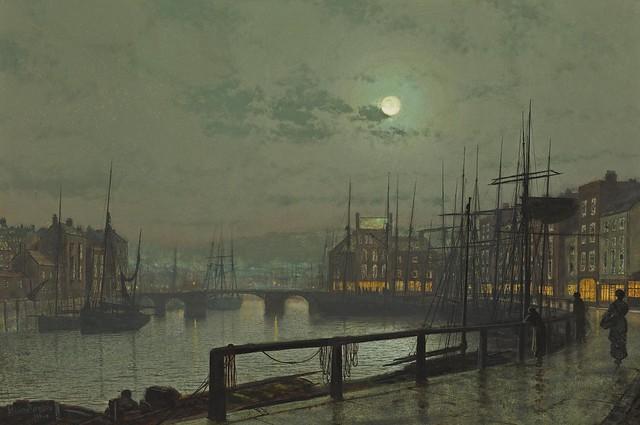 John Atkinson Grimshaw - Whitby [1883]