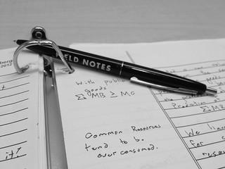 FIELD NOTES + Economics | by MIGreenberg