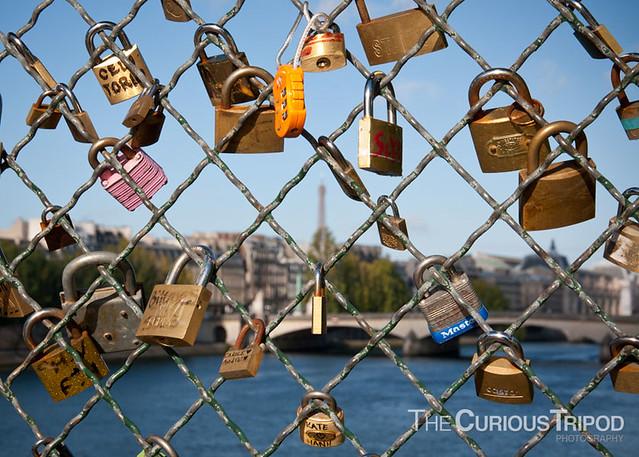 Love Padlocks on the Pont Neuf