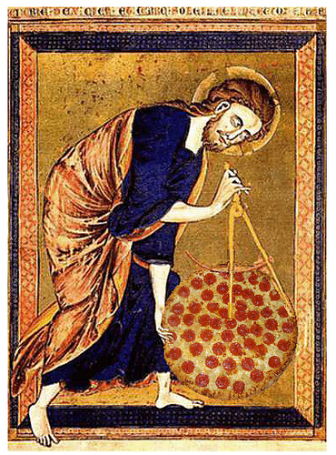 And God Created Pizza, after the Bible Moralisée, ca. 1250 | by Mike Licht, NotionsCapital.com