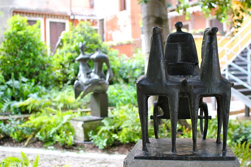 Sculpture Garden at Palazzo Guggenheim