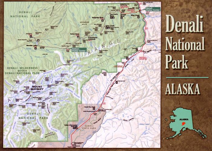 map Alaska, Denali National Park | Anna Bogdanovskaya | Flickr on
