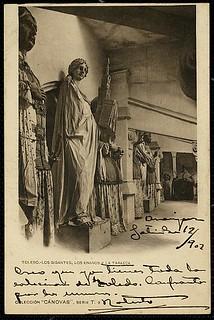 Los gigantes, los enanos y la tarasca. Catedral de Toledo, 1902.Cánovas. Archivo Municipal de Toledo   by pedro.riaza