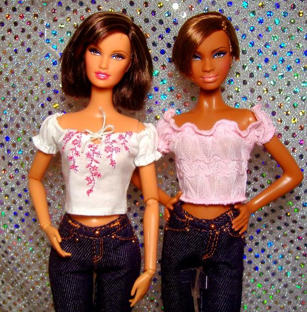 Barbie Basics 2.0 No. 2 & 8 in pink