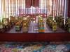 歐厝66號民宿(歐厝66好棧)特製的風獅爺造型象棋