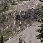 Waterfalls in Glacier Basin