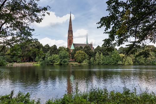 hamburg germany deutschland hamburguhlenhorst uhlenhorst stgertrudkirche sanktgertrud church kirche johannesotzen neugotisch neugotik gertrudvonnivelles