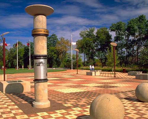 Theodore M Barry Friendship Park, Cincinnati, OH 4x8x2.25 & 4x4x2.25 Bevel Lug | by Whitacre Greer