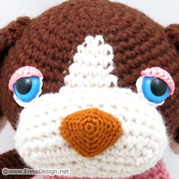 Amigurumi Dog Droppie & Stool Cover Crochet Free Patterns ... | 570x570