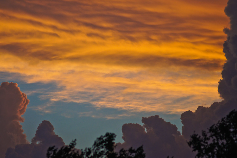 Sunset storm shots