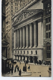 Postcard of the New York Stock Exchange | by FinanceMuseum