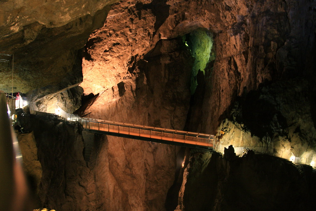 Bridge Inside Skocjan Caves - Slovenia