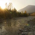 Ole Creek at Sunset