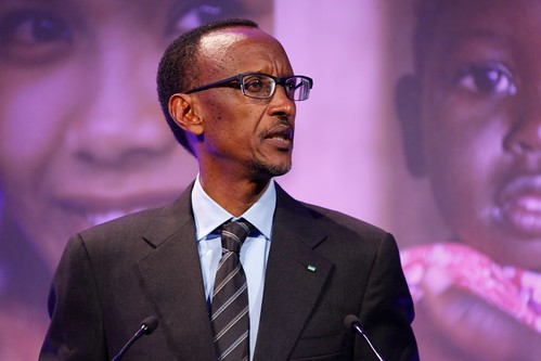 President Paul Kagame of Rwanda, speaking at the London Summit on Family Planning | by DFID - UK Department for International Development
