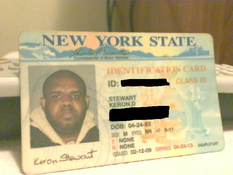 State Sensitive Flickr Id Card Real edited York Materials… My New