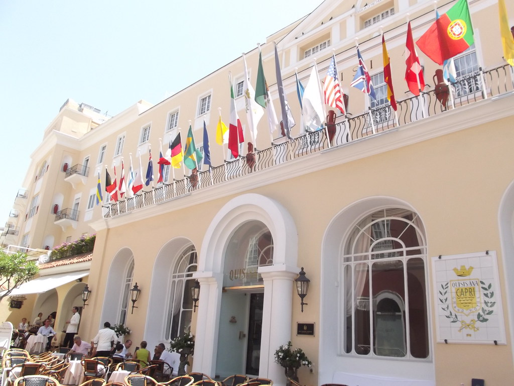 Grand Hotel Quisisana Capri World Flags Our Walking To Flickr