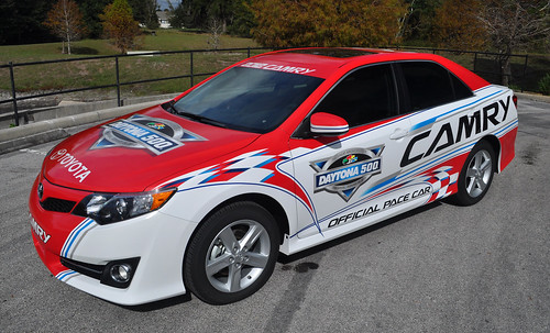 Race car wrap graphics by TechnoSigns