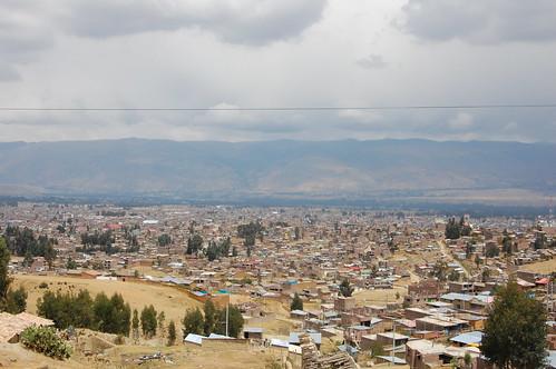 Views from Torre Torre, Huancayo, Junín, Peru   by blueskylimit