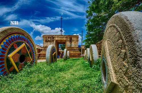 Bhoga Nandeeshwara Temple, Nandi Hills, Bangalore   by Nitesh-Bhatia